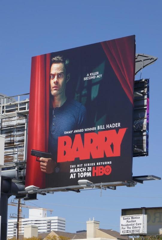 Barry season 2 billboard