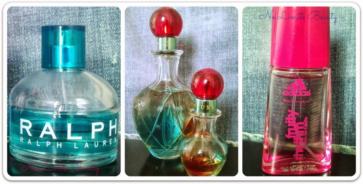 Comparativa de perfumes: Ralph de Ralph Lauren, Live Luxe de Jennifer López y Fruity Rhythm de Adidas