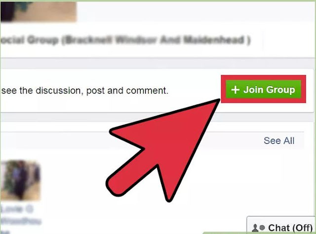 How To Join A Group On Facebook step 3