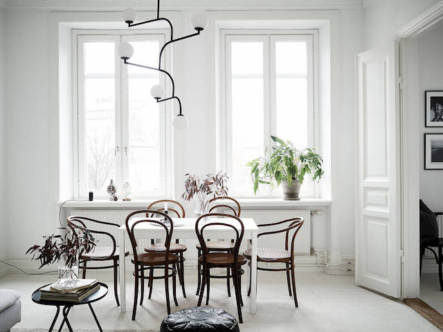 The art of Zen (and keeping it simple) in a Swedish home