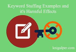 Keyword Stuffing Examples