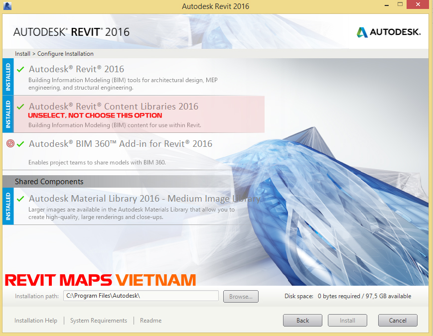 Download Revit Library RVT version 2015, 2016, 2017 ~ REVIT