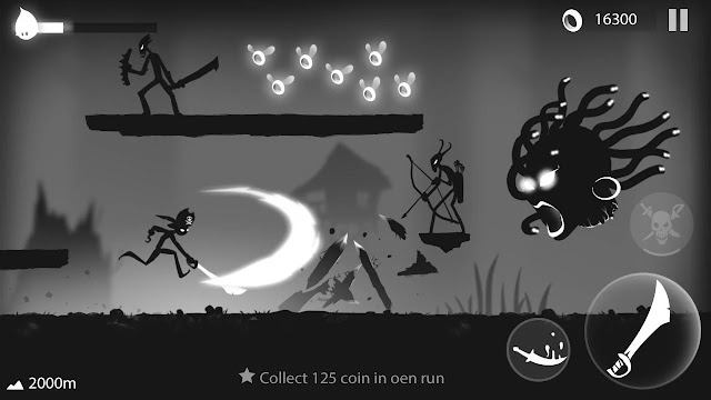 Stickman Run: Shadow Adventure MOD APK unlimited money