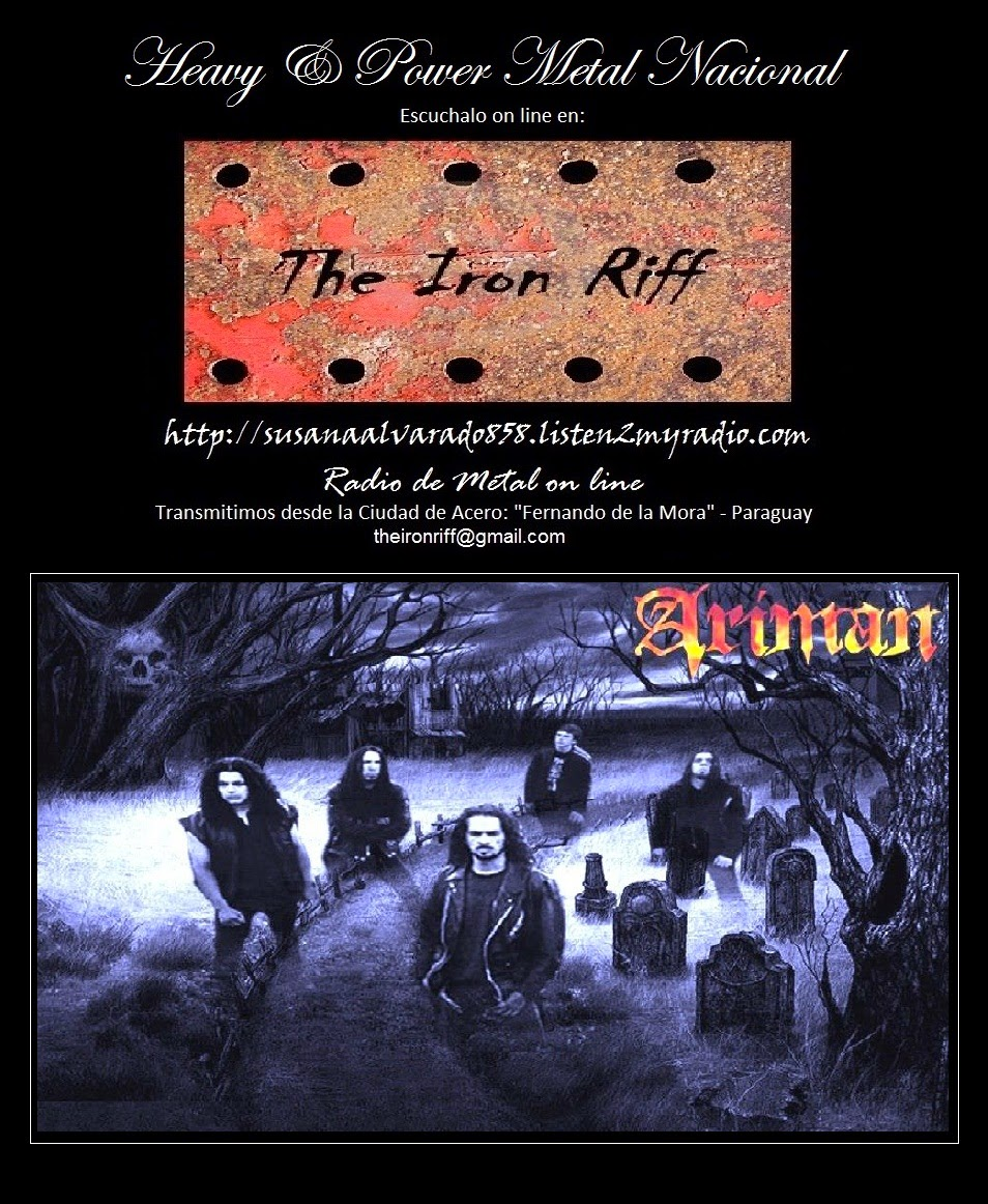El Libro Maldito The Iron Riff Radio Station On Line El Libro Maldito Ariman