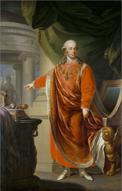 Emperor Leopold II, for whose coronation La Clemenza di Tito was written