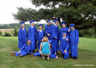 Wordless Wednesday - Grad Photo Album on Homeschool Coffee Break @ kympossibleblog.blogspot.com and on JustASecondBlog.blogspot.com