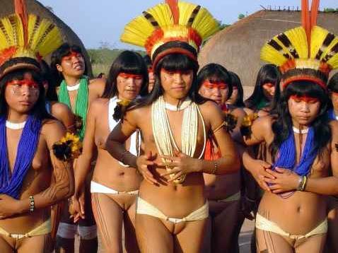 xingu tribe teen girls
