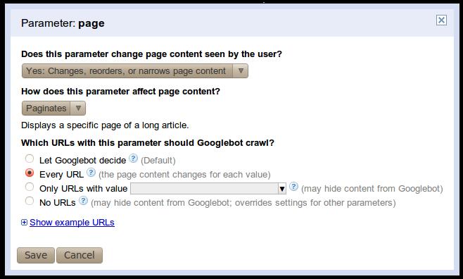 Official Google Webmaster Central Blog Improved Handling Of Urls