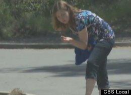 Brenda Salveson a găsit ceva interesant în El Dorado - poza de la CBS Local