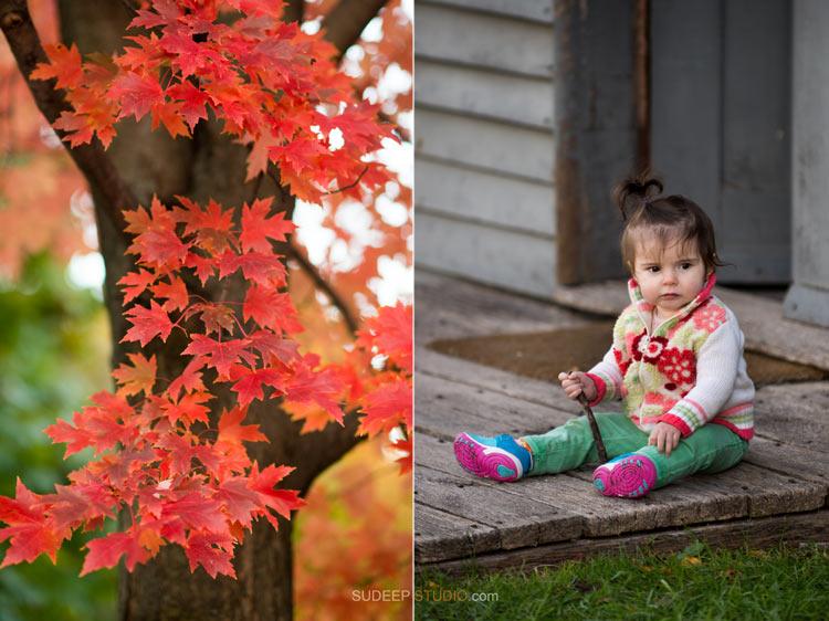 Fall Family Portrait Photography - Ann Arbor Photographer Sudeep Studio.com