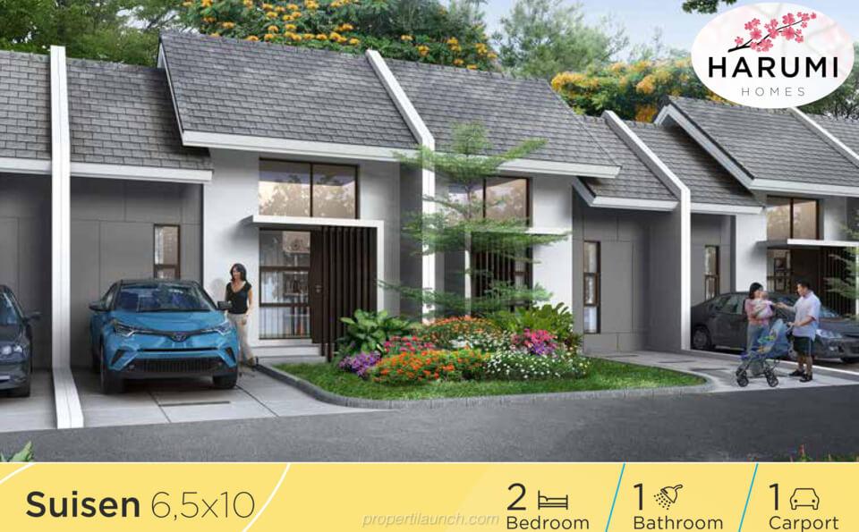 Rumah Harumi Homes Tipe Suisen