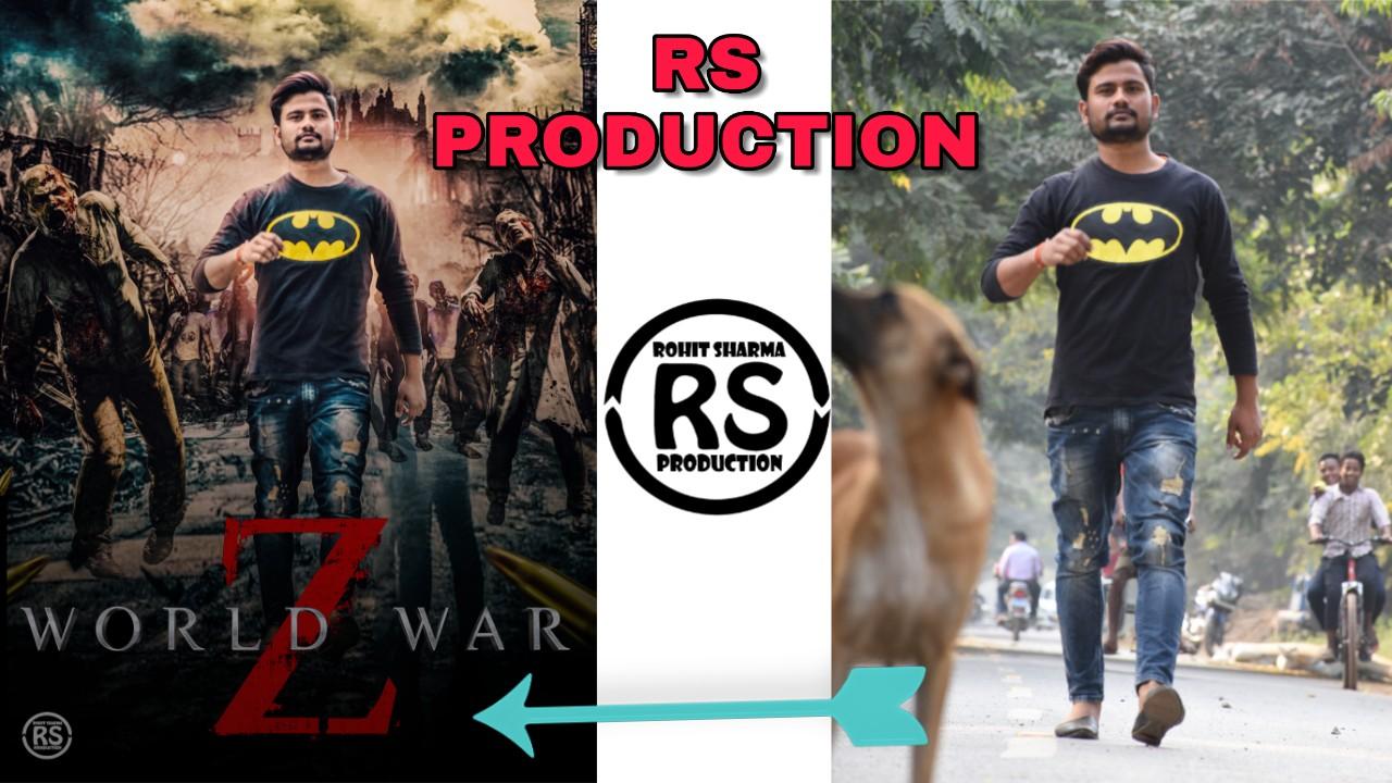 create a like Zombie Poster manipulation using Photoshop