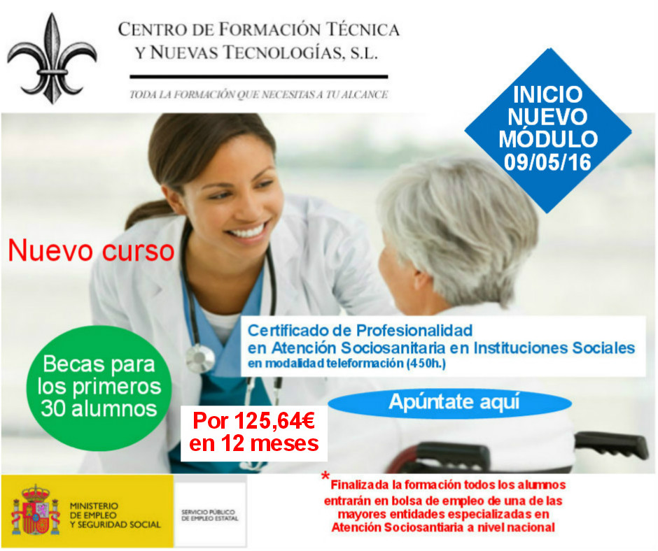 Centro de formaci n t cnica y nuevas tecnolog as mayo 2016 for On centro de formacion