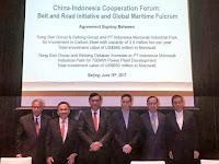 Luhut Tawarkan Sejumlah Proyek ke Investor Cina, Termasuk Proyek Industri Nuklir