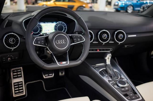 2017 Audi TT S Line Competition Interior