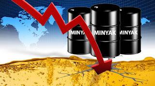 hal itu belum di realisasikan padahal harga minyak dunia hari ini mencapai titik terendah dalam 7 tahun terakhir