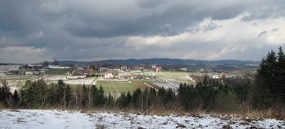 Panorama z przysiółka Dąbry