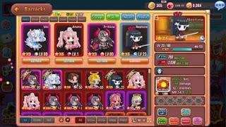 Hero Collection RPG Apk v1.87 Mod (God Mode/Damage x1000/No MP Consume)