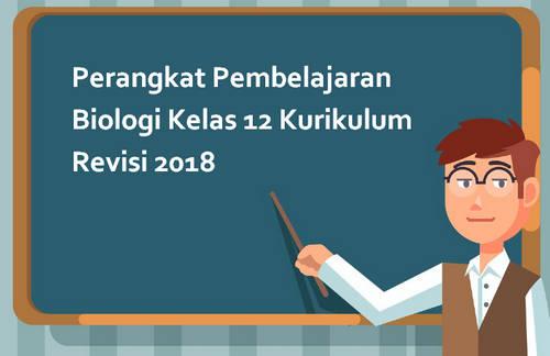Perangkat Pembelajaran Biologi Kelas 12 Kurikulum Revisi 2018