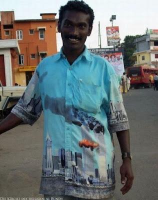 Lustiger Urlaub im Nahen Osten - Witzige Einheimischen Bevölkerung - Kurioses Hemd