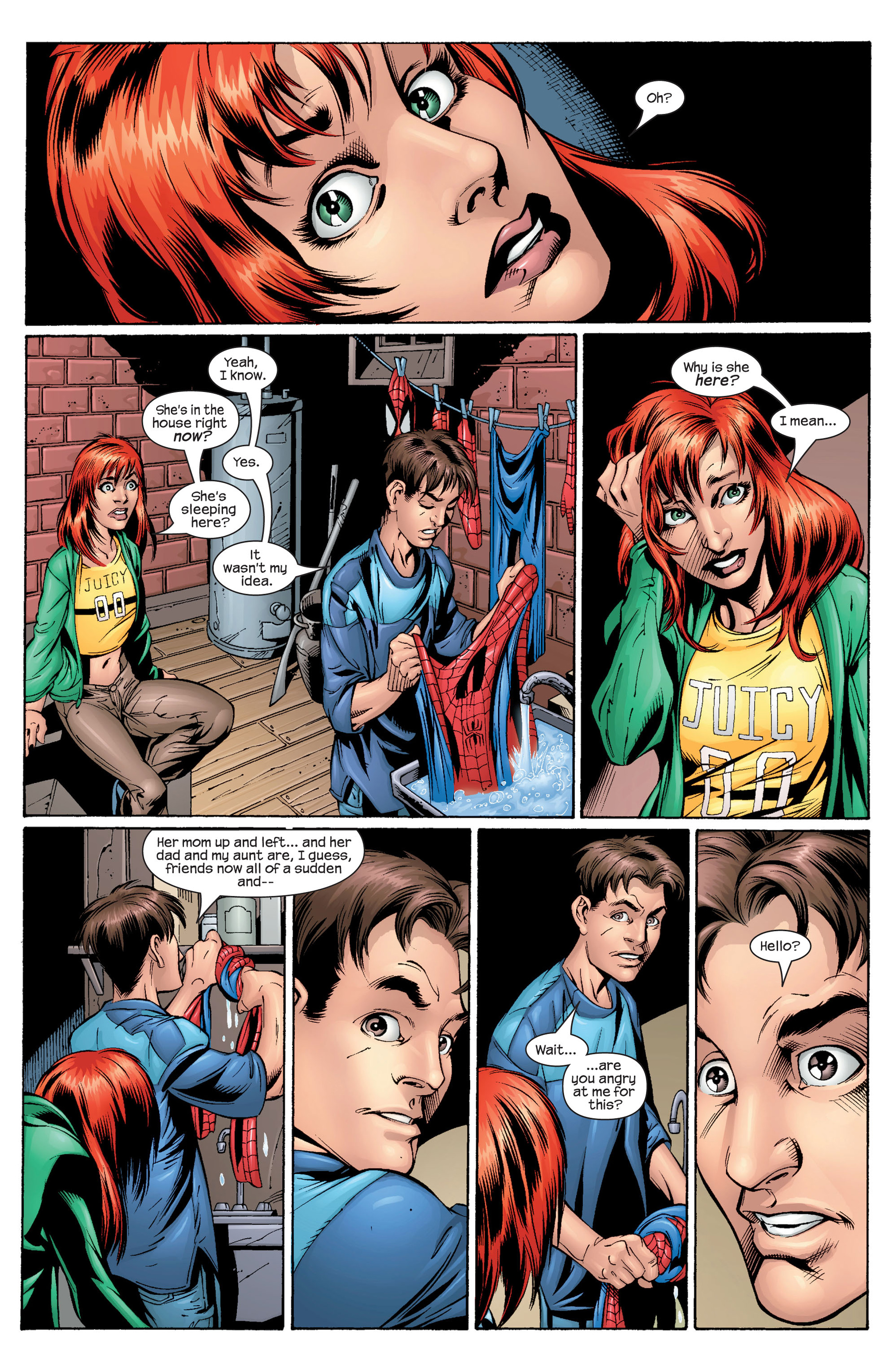 Read online Ultimate Spider-Man (2000) comic -  Issue #29 - 17