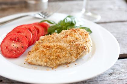 Crispy Pesto Parmesan Chicken