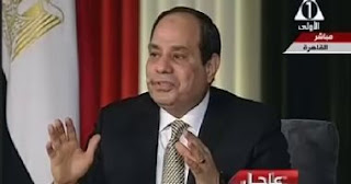 Egypt: President Abdel Fattah al-Sisi: Suez Canal revenues rise by 250$ million