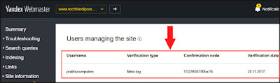 how to submit sitemap to yandex webmaster tool