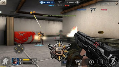 Tampilan Game Crisis Action
