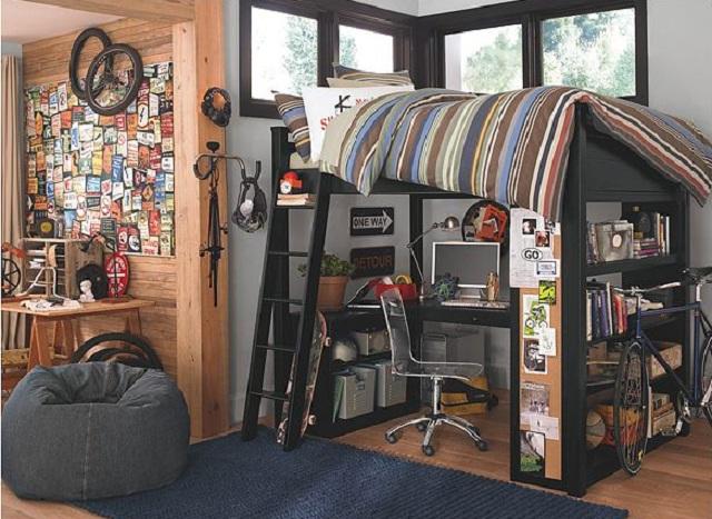 Como ordenar o organizar un dormitorio juvenil for Ordenar habitacion