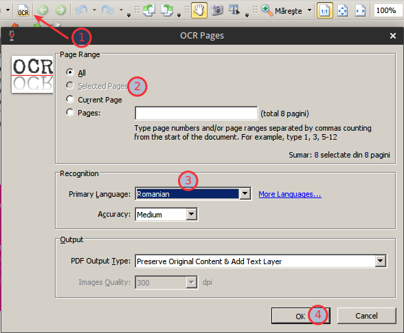 How to OCR to searchable PDF in Linux · One Transistor