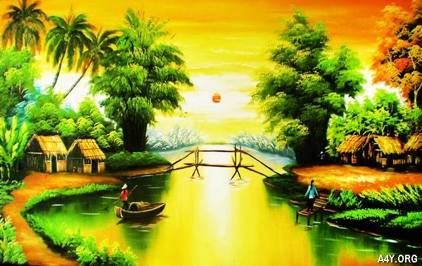 con sông quê hương