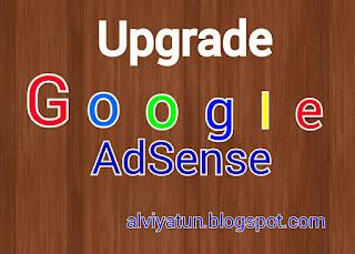 upgrade adsense hosted ke full approve