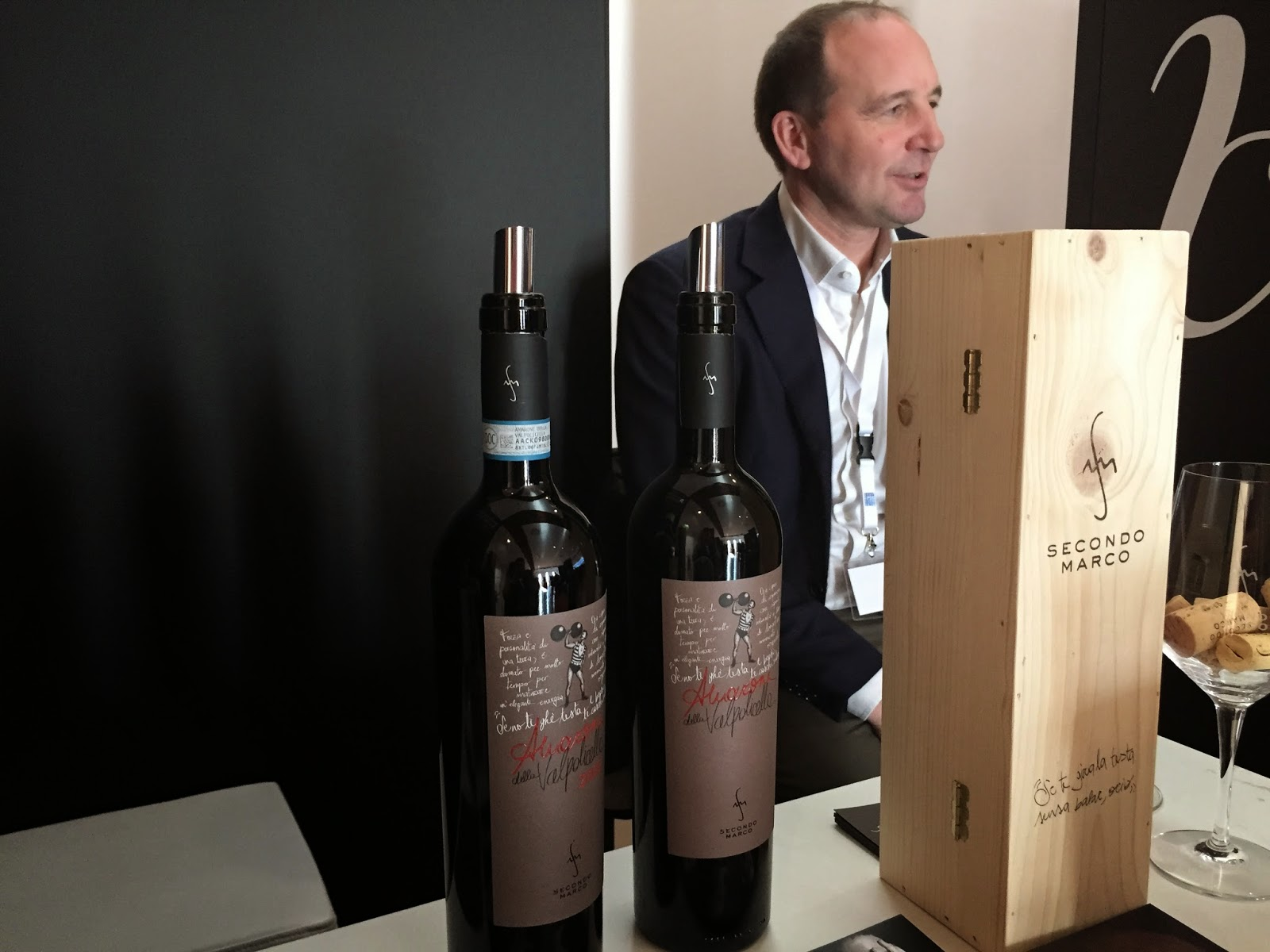 Winemaker Marco Speri of Secondo Marco
