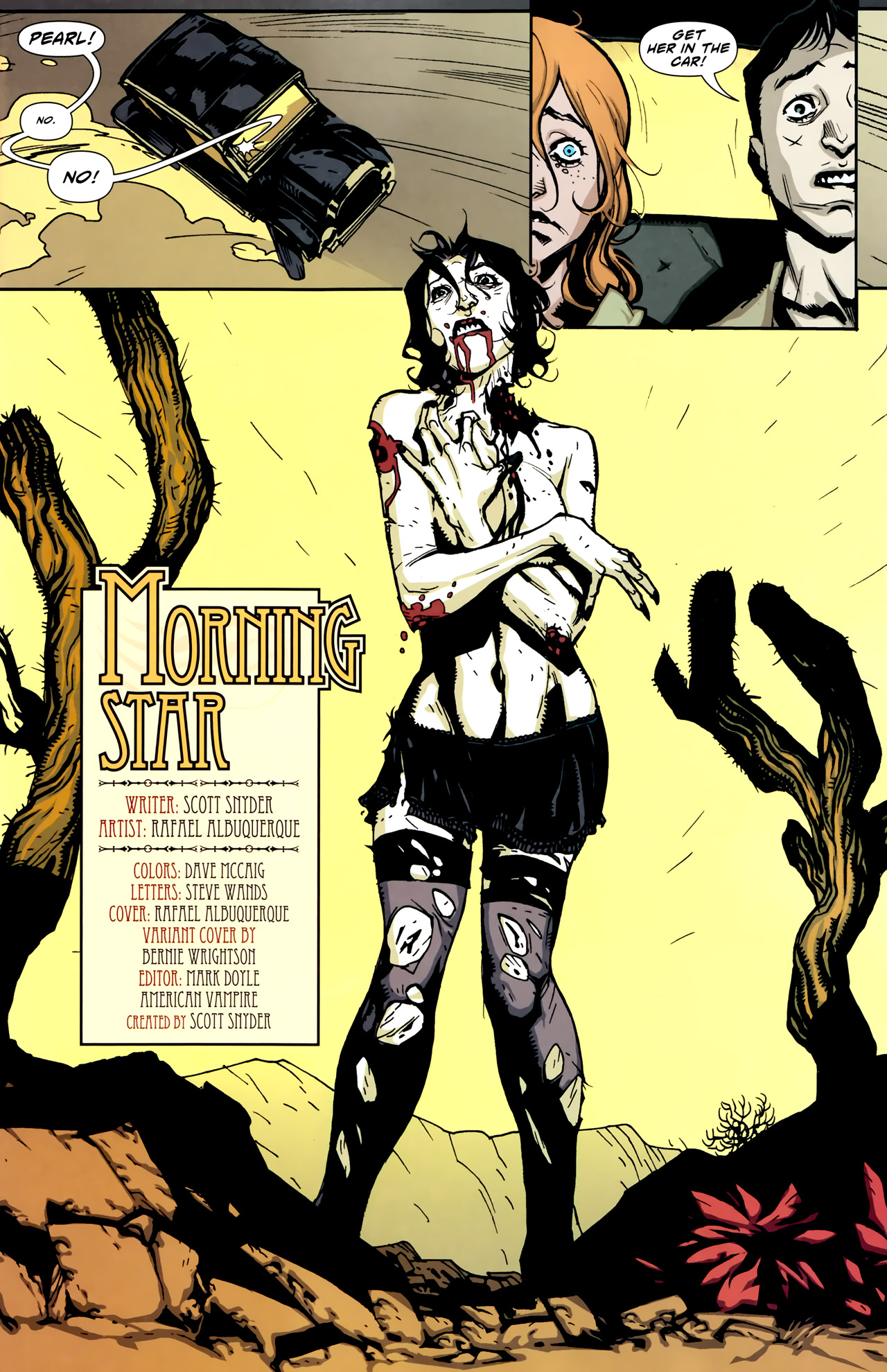 Read online American Vampire comic -  Issue #2 - 5