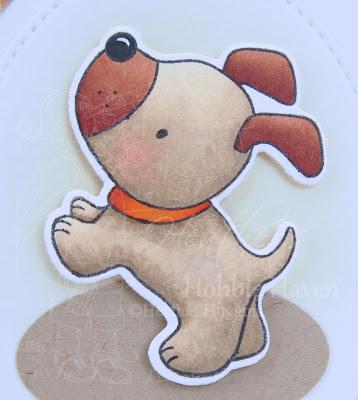 Heather's Hobbie Haven - Color Wednesday - Playful Pups
