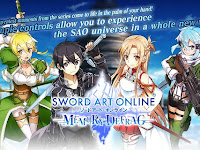 Sword Art Online Memory Defrag English Version MOD v1.13.1 Apk Android Terbaru