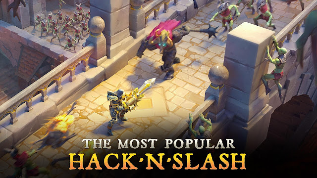 Download Dungeon Hunter 5 MOD APK Gratis
