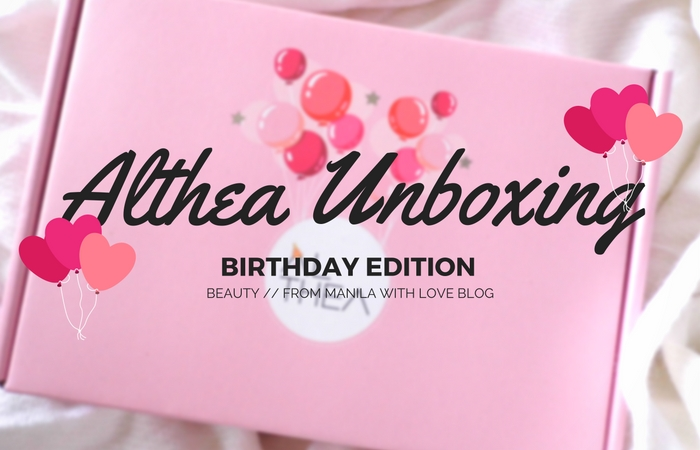 althea-unboxing-birthday-haul-sale-1