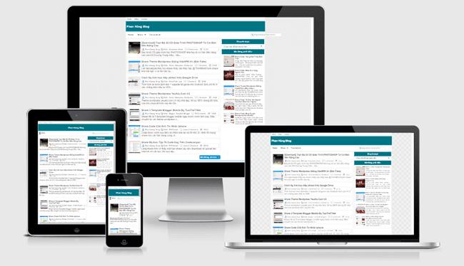 Miễn phí tải 6 Template blogspot cá nhân cực đẹp