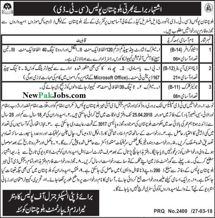 police-balochistan-jobs