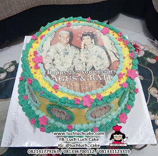 Kue Tart Edible Image (Foto Dapat Di Makan)