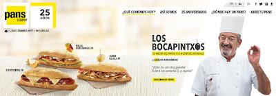los bocapintxos de pans and company