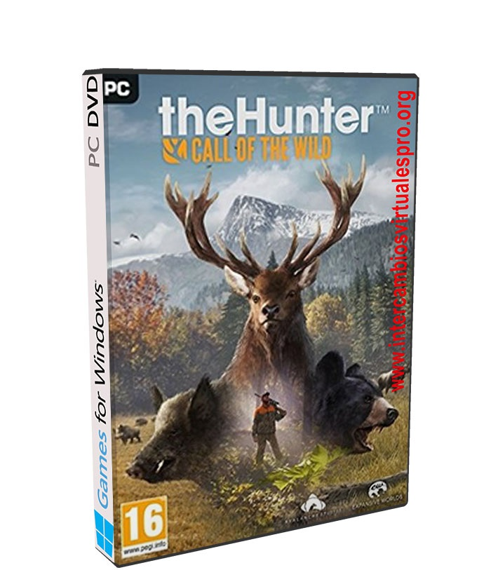 theHunter Call of the Wild poster box cover