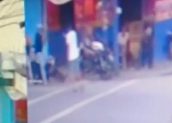 Video: Momento en que matan a tiros a un hombre en SFM