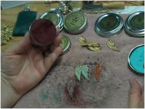 How To Use Gilder S Paste To Color Metal Jewelry The