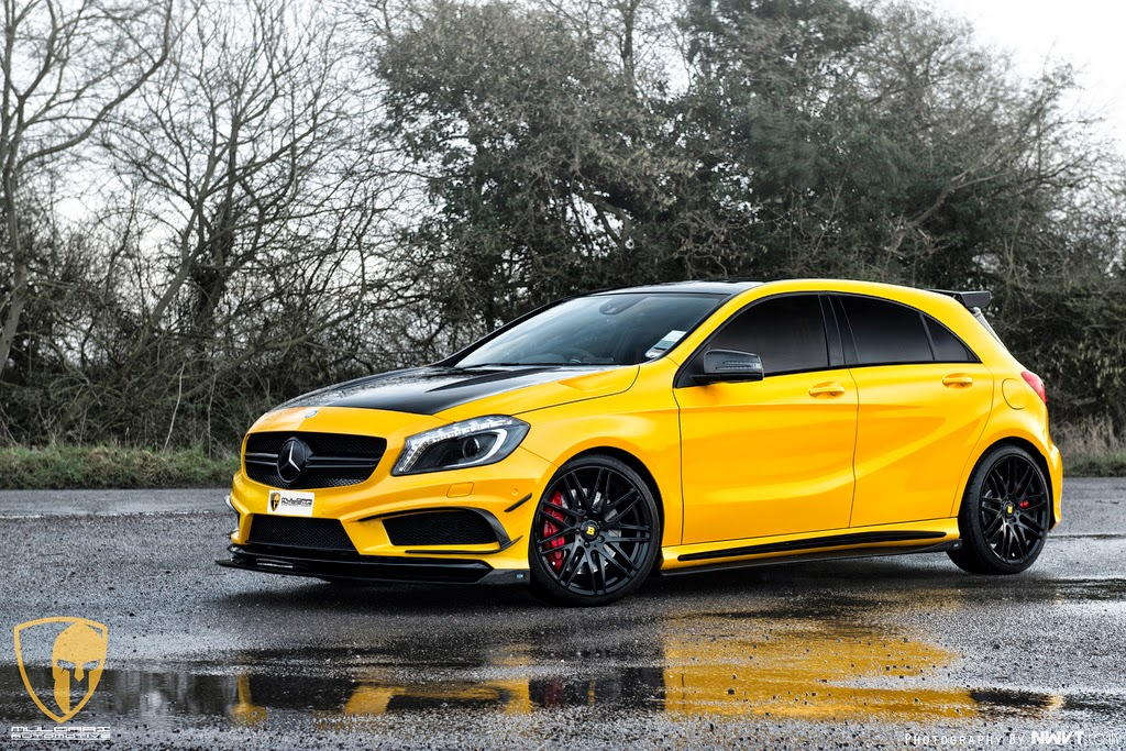 mercedes a45 amg project of revozport and mulgari benztuning. Black Bedroom Furniture Sets. Home Design Ideas