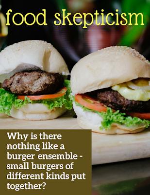 small burgers versus bigger burgers gastronomy