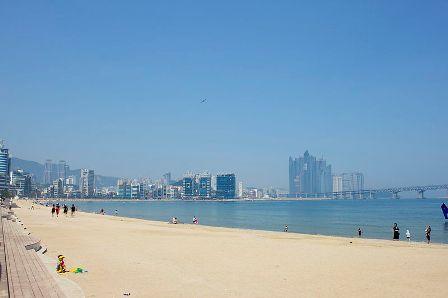 Pantai Gwangalli, Busan