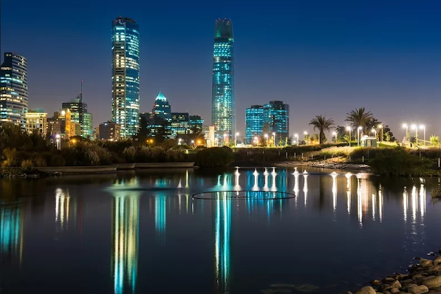 Mês a mês em Santiago do Chile